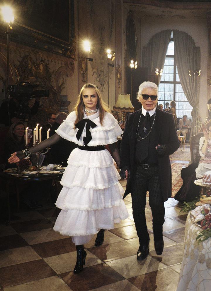 Karl Lagerfeld – Chanel Métiers d' art Salzburg 2014